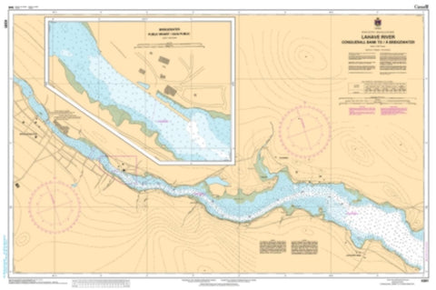 Buy map LaHave River - Conquerall Bank to Bridgewater by Canadian Hydrographic Service