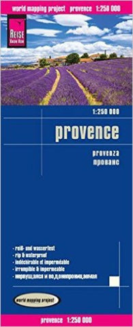 Buy map Provence, France by Reise Know-How Verlag