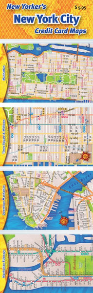 Buy map Credit Card Maps: New York City Set by Opus Publishing
