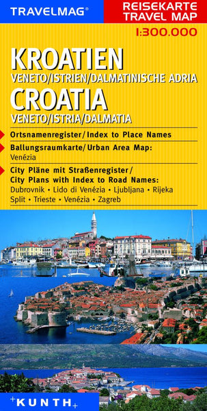 Buy map Croatia and Veneto, Italy by Kunth Verlag