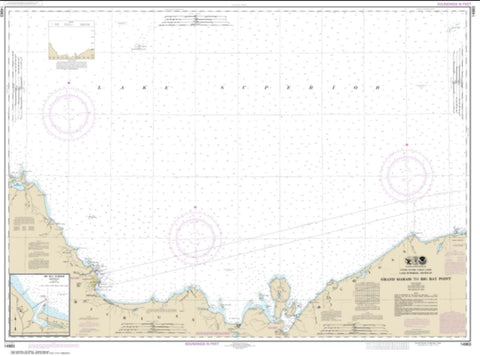 Buy map Grand Marais to Big Bay Point; Big Bay Harbor (14963-21) by NOAA