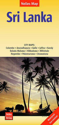 Buy map Sri Lanka by Nelles Verlag GmbH