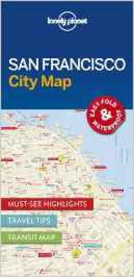 Buy map San Francisco City Map by Lonely Planet Publications