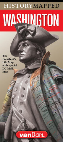 Buy map Washington History Map with Mall Map by VanDam