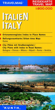 Buy map Italy by Kunth Verlag