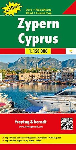 Buy map Cyprus by Freytag-Berndt und Artaria