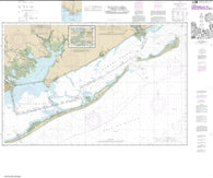 Buy map Intracoastal Waterway Carrabelle to Apalachicola Bay; Carrabelle River (11404-24) by NOAA
