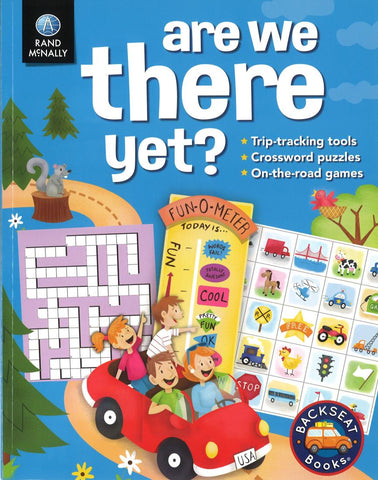 Buy map Are We There Yet? Travel Book for kids by Rand McNally