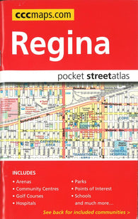 Buy map Regina SK, Pocket Street Atlas by Canadian Cartographics Corporation
