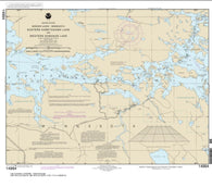 Buy map Namakan Lake, Western Part and Kabetogama Lake, Eastern Part (14994-11) by NOAA