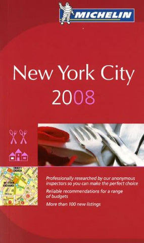 Buy map New York City, New York, Red Guide by Michelin Maps and Guides
