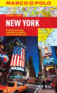 Buy map New York City, New York by Marco Polo Travel Publishing Ltd