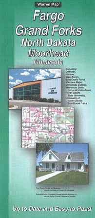 Buy map Fargo/Grand Forks, North Dakota : Moorhead, Minnesota by The Seeger Map Company Inc.