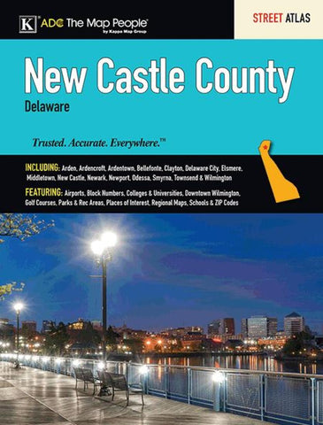 Buy map New Castle County, DE, Street Atlas by Kappa Map Group