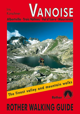 Buy map Vanoise,  RotherWalking Guide by Rother Walking Guide, Bergverlag Rudolf Rother