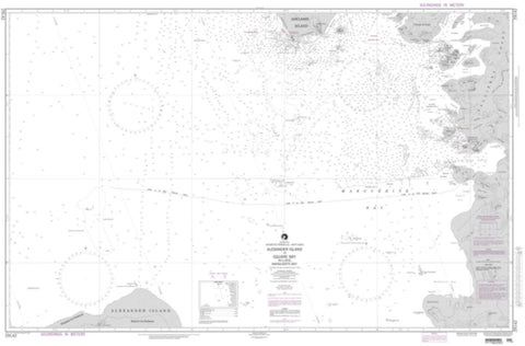 Buy map Alexander Island To Square Bay Including Marguerite (NGA-29142-3) by National Geospatial-Intelligence Agency