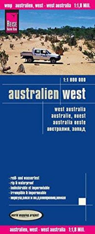 Buy map Australia, West by Reise Know-How Verlag