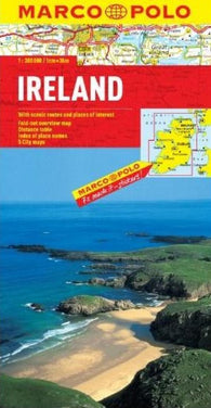 Buy map Ireland by Marco Polo Travel Publishing Ltd