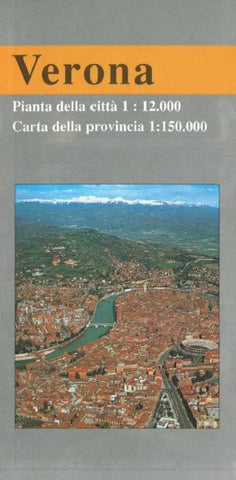 Buy map Verona, Italy, City and Province by Litografia Artistica Cartografica