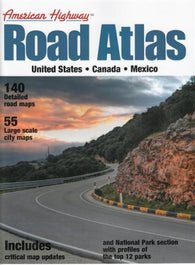 Buy map United States, Canada and Mexico Highway Road Atlas, small version by Mapping Specialists Ltd.