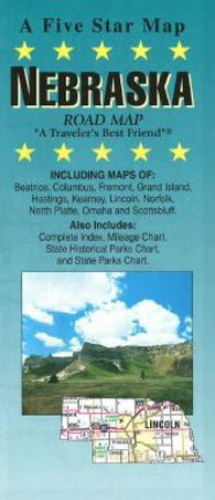 Buy map Nebraska by Five Star Maps, Inc.