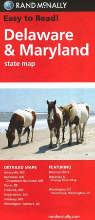 Buy map Delaware and Maryland by Rand McNally