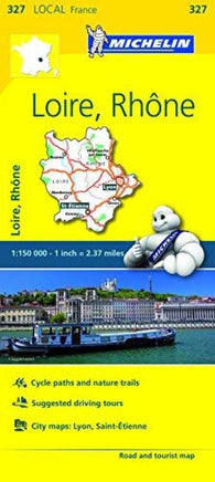 Buy map Loire, Rhone (327) by Michelin Maps and Guides