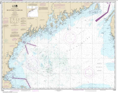 Buy map Bay of Fundy to Cape Cod (13260-41) by NOAA