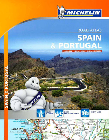 Buy map Spain and Portugal, Road Atlas (460) by Michelin Maps and Guides