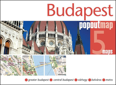 Buy map Budapest, Hungary, PopOut Map by PopOut Products, Compass Maps Ltd.