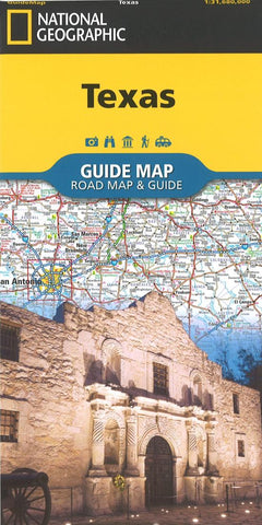 Buy map Texas Guide Map by National Geographic Maps