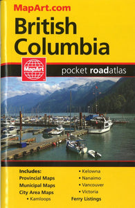 Buy map British Columbia Pocket Road Atlas by Canadian Cartographics Corporation