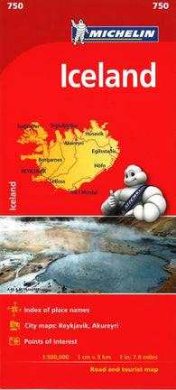 Buy map Iceland by Michelin Maps and Guides