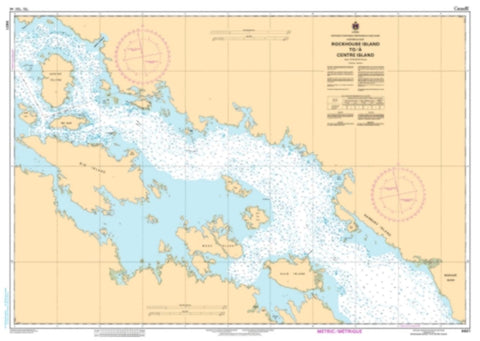 Buy map Rockhouse Island to/a Centre Island by Canadian Hydrographic Service