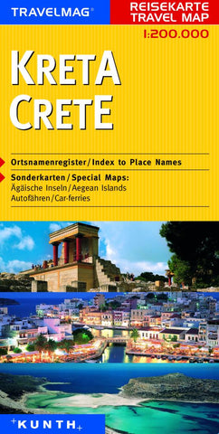 Buy map Crete, Greece by Kunth Verlag
