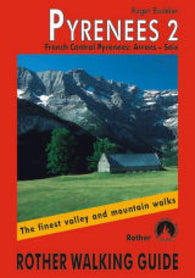 Buy map Pyrenees 2, French Central, Walking Guide by Rother Walking Guide, Bergverlag Rudolf Rother