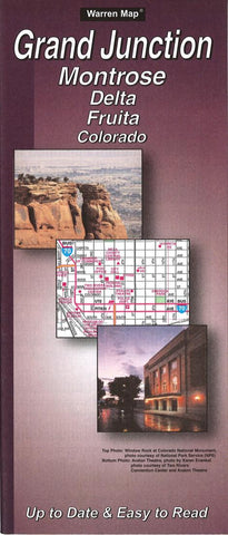 Buy map Grand Junction, Montrose, Delta and Fruita, Colorado by The Seeger Map Company Inc.