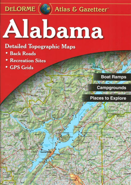 Buy map Alabama, Atlas and Gazetteer by DeLorme