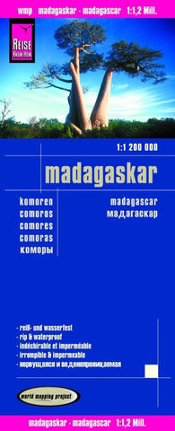 Buy map Madagascar and Comoros by Reise Know-How Verlag