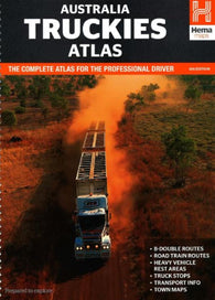 Buy map Australia, Truckies Atlas, 6th edition by Hema Maps