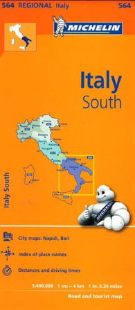 Buy map Italy, Southern (564) by Michelin Maps and Guides