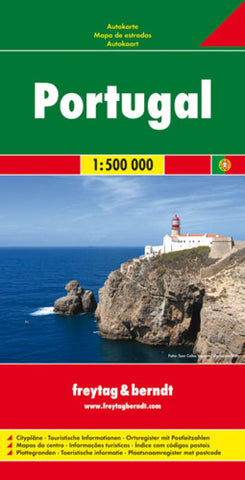 Buy map Portugal by Freytag-Berndt und Artaria