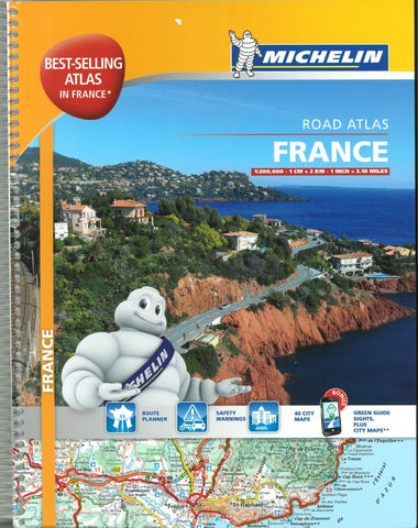 Buy map France Road Atlas (20197) by Michelin Maps and Guides