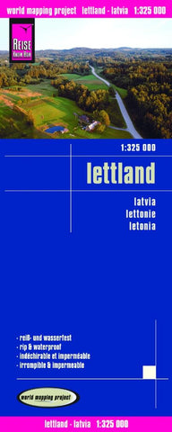 Buy map Latvia by Reise Know-How Verlag