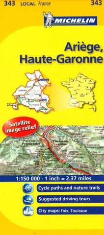 Buy map Arige, Haute Garonne (343) by Michelin Maps and Guides