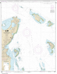Buy map Bahia de Fajardo and Approaches (25667-21) by NOAA