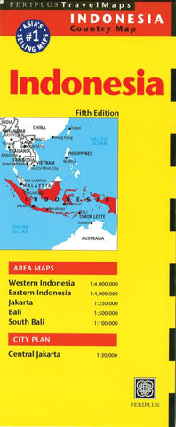 Buy map Indonesia by Periplus Editions
