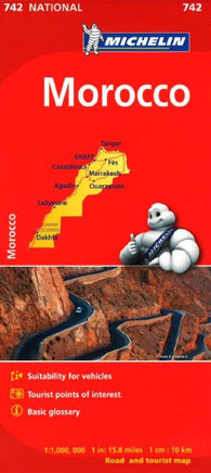 Buy map Morocco (742) by Michelin Maps and Guides