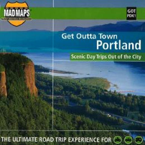 Buy map Portland, Oregon, Get Outta Town by MAD Maps