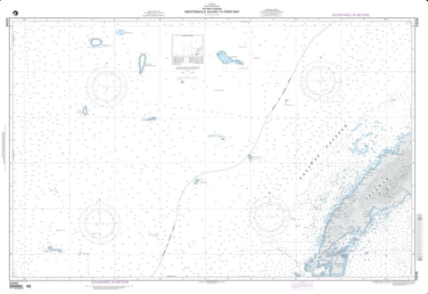 Buy map Mantangule Island To Eran Bay (NGA-93046-1) by National Geospatial-Intelligence Agency
